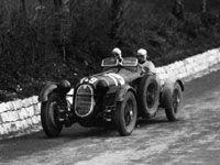 Mille Miglia 1936 - Alfa Romeo 8C 2900A #79 of Pintacuda / Stefani.