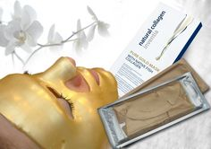 Gold Masks with Collagen (box of 3)     his is very unique product - COLLAGEN MASK WITH GOLD PARTICLES with a real variety of active ingredients, including precious colloidal gold particles.   This is another revolution in Colway product range