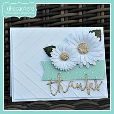 The Scrap Zone: Flower Market - Daisy Cardmaking Workshop