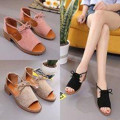 #Spring #AdoreWe #YesStyle - #Weiya Block Heel Sandals - AdoreWe.com