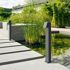 LED garden and pathway luminaires for the private sector · BEGA Modern Lighting Design, Cool Lighting, Outdoor Lighting, Lighting Ideas, Landscaping With Rocks, Modern Landscaping, Garden Landscaping, Landscape Design, Garden Design