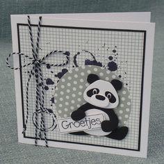 Marjoleine's blog: 3 kaarten met panda's en het nieuwe paperbloc