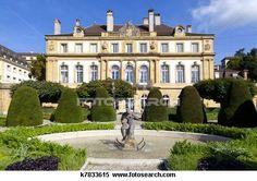 Old Mansion in Neuchatel, Switzerland