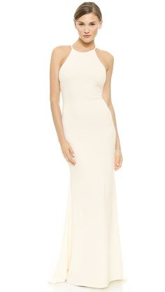 Badgley Mischka Collection Halter Odessa Bridal Gown Wedding Dress | Get paid up to 9.2% Cashback when you shop at SHOPBOP with your DubLi membership. Not a member? Sign up for FREE at www.downrightdealz.net