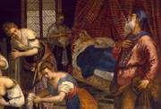 -- Luke 1 - Zachariah--Jacopo_Tintoretto_- [in ACT] -- Venetian Painters, Luke 1, John The Baptist, Michelangelo, Art History, Scene, Christian, Traditional, Artist