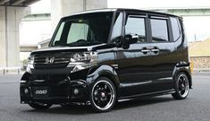 Customized Honda N Box.  A top seller in the Japanese Kei Car category of small vehicles (up to 660cc engine size).