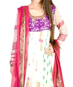 Buy Ladies Designer Suits Online | Anarkali Suits online Shopping in Delhi - iCanshop