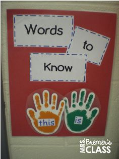 Bremer's Kindergarten: alphabet activities - idea for sight word recognition and ABC/Number recognition Sight Word Activities, Kids Learning Activities, Alphabet Activities, Kindergarten Activities, Teaching Ideas, Preschool Literacy, Language Activities, Writing Activities, Preschool Ideas