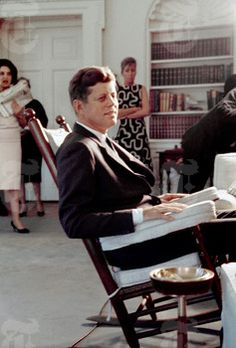 President Kennnedy. By George TAMES (NYT News Service Photo Archives).