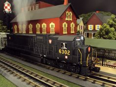For details on this item check out our website. http://www.mthtrains.com/30-20243-1 In our cover shot today is the soon to arrive MTH RailKIng Scale O Gauge Pennsylvania C-628 Diesel 30-20243-1. The RailKing C-628 will be arriving in addition to Pennsylvania in Delaware & Hudson 30-20242-1, Lehigh Valley 30-20244-1, and Southern Pacific 30-20245-1. The RailKing C-628 operates on O-31 Curves and these models have a MSRP of $329.95. Ask your MTH Dealer about ordering one today.