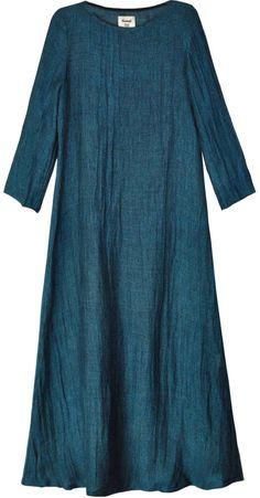 Samuji Petrol Civi Long Sleeve Dress