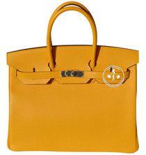 35cm Hermès Jaune D'or Epsom Leather Birkin Handbag #9886
