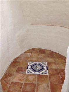 Antiguo horno de la casa cueva reconvertido en sala de meditación