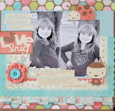 Kristen Swain, Cricut, Expression, layout, layouts, diecuts, scrapbook, scrapbooking, crafts, crafting, paper crafts,Create a Critter, Accent Essentials,