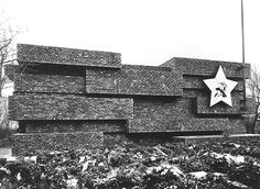 Ludwig Mies van der Rohe, Monument to Rosa Luxemburg and Karl Liebknecht, Berlin, 1926