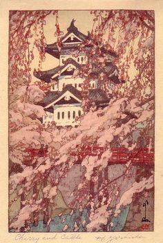 Hiroshi Yoshida (1876-1950). From the book Japanese Woodblock Printing. 1939.