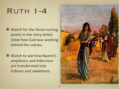 Journey Through The Bible Part 8: The Book of Ruth - Faithfulness