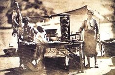 Kebab stand? Turn of the century, Ottoman Empire
