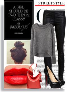 """""""Fabulously Classy... Redefined"""" by giselles6 on Polyvore"""