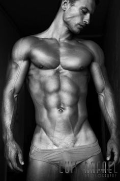 Harijs Broza, Male Fitness Model | © Luis Rafael ? Www.facebook.com/... # Pecs Six Pack Abs Hunk Men Nice Arms Bare Chest Hot Guy Male Body Shirtless Musculoso