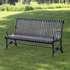 Nice Outdoor Metal Bench