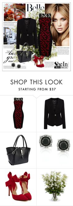 """""""SheIn 5/VI"""" by nermina-okanovic ❤ liked on Polyvore featuring Karen Millen, Mark Broumand and New Growth Designs"""