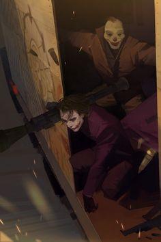 The amazing digital art — The amazing concept art for Star Wars: Rogue One. Heath Ledger Joker Wallpaper, Joker Ledger, Joker Dark Knight, The Dark Knight Trilogy, Joker Pics, Joker Art, Dc Comics Art, Batman Comics, Batman Art