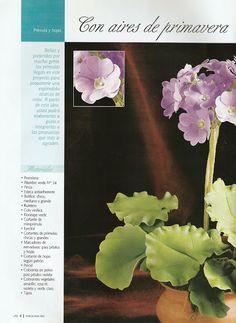 Todo Flores de Porcelana Fria: Primula Paso a Paso