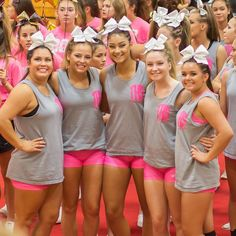 Come support theses Senior Lady Tigers and their Comp Cheer Sisters  as they compete at their last Bay Rivers District Championship at York High School. Wear Pink for Breast Cancer Awareness  Doors open at 9:00a.m.