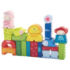 Haba Eeny Meeny Miny Zoo Blocks