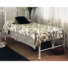 Nimbus Single Bed Frame in Victorian Bedstead Style