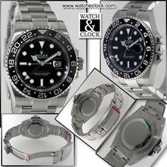 Rolex GMT-Master II Ref.116710LN, Carica automatica, cassa e bracciale in acciaio, Ø40mm. Con scatola e documenti. Anno 2017