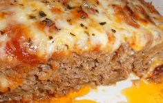 SKINNY PIZZA MEATLOAF – Weight Watchers Recipes