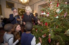 Camilla told MailOnline: 'It's one of the most special things we do all year. I wouldn't miss it for the world'