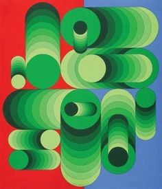 Dieuzeu, 1981 By Victor Vasarely