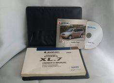 Suzuki Grand Vitara XL-7 XL7 2002 02 Owners Manual Set Case Book OEM Handbook | eBay Motors, Parts & Accessories, Manuals & Literature | eBay!