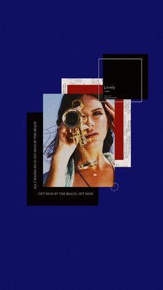 lockscreen: Lana del rey Blue aesthetic - Home Decor Tumblr Wallpaper, New Wallpaper, Aesthetic Iphone Wallpaper, Aesthetic Wallpapers, Wallpaper Quotes, Wallpaper Backgrounds, Cool Wallpapers For Phones, Cute Wallpapers, Blue Aesthetic