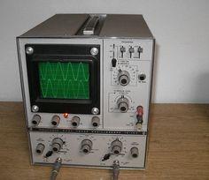Heathkit Model 10-105 Dual Trace Oscilloscope (Scope) 15Mhz. Perfect for Audio!