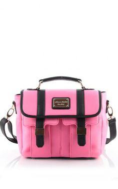 Torebka Tori Neon Pink