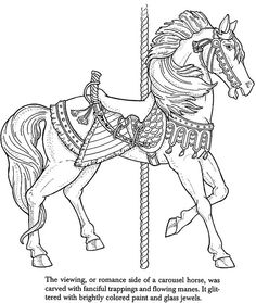 Carousel Animals Coloring Book | Flickr - Photo Sharing!