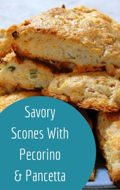 Clinton Kelly and Drew Barrymore were in the kitchen on The Chew making Savory Scones with Pecorino and Pancetta.