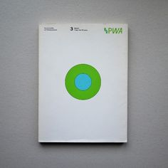 Druckobjekte auf Naturpapieren 2003 #Printed #Objects #Uncoated #Papers #Germany #Stuttgart #Design #PeterSteiner #Print #Graphics #Paper #Natural #Graphic #Green #Cyan #Circle #Circular #CMYK #Series by neue_miller
