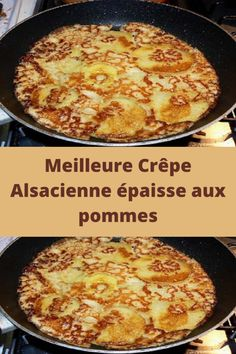 Best thick Alsatian pancake with apples - Recettes Astuces - Desserts Slow Cooker Recipes, Cooking Recipes, Healthy Recipes, Pastry Cook, Baked Chicken Fajitas, Pancakes And Waffles, Waffle Recipes, Healthy Fruits, Sweets Recipes