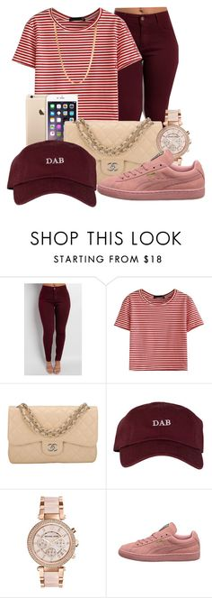 """Bryson Tiller's Daughter"" by thatgurlcandii ❤ liked on Polyvore featuring beauty, WithChic, Chanel, Michael Kors and ASOS"