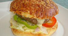 4 hatalmas adag hamburgert készítettem, az egyiket zsömle nélkül, csak salátával tálaltam. Nem újdonság nálam a házi hamburger , l... Hamburger, Ethnic Recipes, Food, Essen, Burgers, Meals, Yemek, Eten