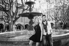Photo de couple avec Audrey et Mathieu
