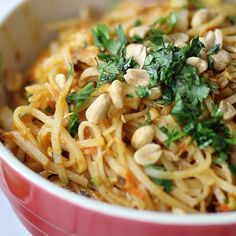 Easy Pad Thai Salad
