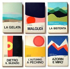 Book cover designs by Mario Degrada.   #Italian  via @jamesrdesigner