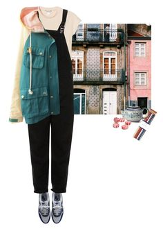 """""""Без названия #792"""" by haomind ❤ liked on Polyvore featuring Chanel, Monki, NIKE, Topshop, i am a and Polish Pottery"""