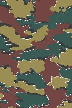 Belgien - Belgium Camo - by armeeoffizier. Mode Camouflage, Camouflage Patterns, Military Camouflage, Military Police, Camouflage Wallpaper, Camo Wallpaper, Techno Gadgets, Camo Designs, Army & Navy